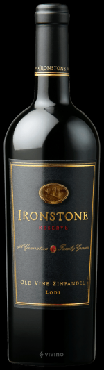 Ironstone Reserve Old Vine Zinfandel  (鐵石珍藏老藤仙粉黛)